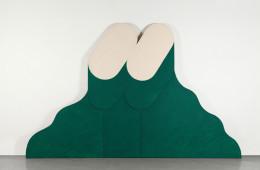 Rodolfo Aricò, Loud, 1965, olio su tela, 215x340 cm Courtesy Lorenzelli Arte, Milano