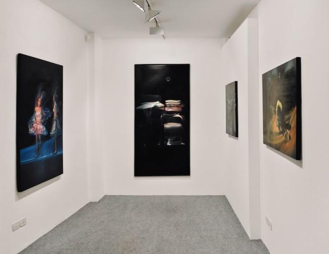 AGAIN!; veduta della mostra; foto di Giulia Squillace