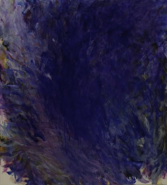 Ayako Nakamiya, Auspicio nell'ombra, 2014, olio su tela, 100x90 cm Courtesy Paraventi Giapponesi - Galleria Nobili, Milano