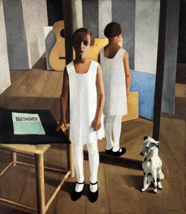 Felice Casorati, Beethoven, 1928, Rovereto, MART, Museo di arte moderna e contemporanea di Trento e Rovereto © MART Archivio Fotografico. Felice Casorati by SIAE 2014