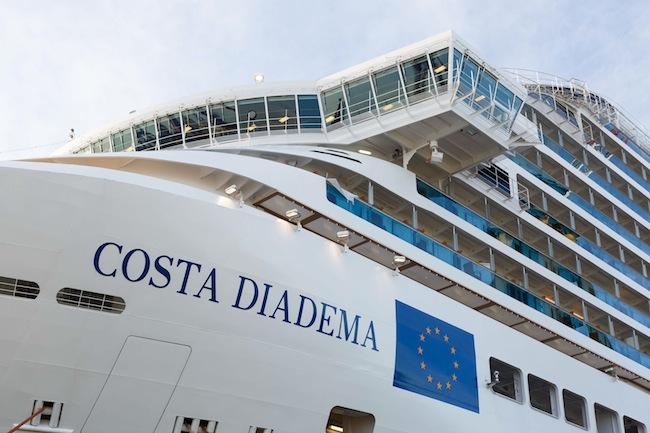 Costa Diadema, Prua
