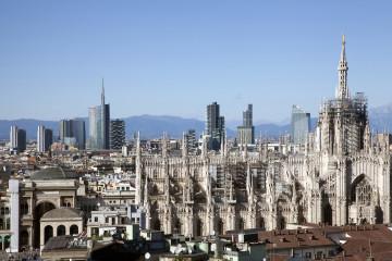 Skyline di Milano Foto Marco Garofalo