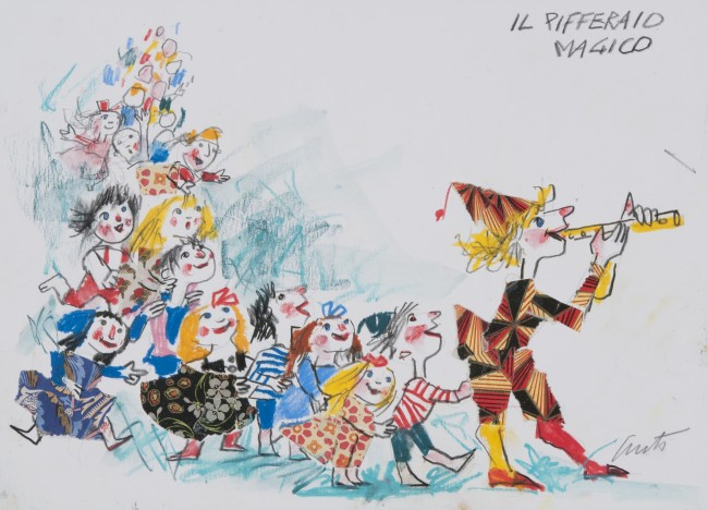 Emanuele Luzzati. Il pifferaio magico