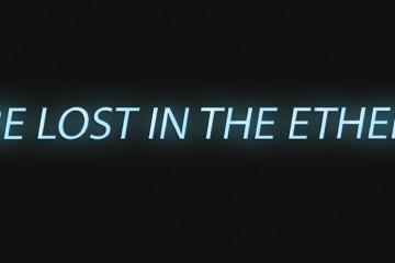 Be lost in the ether. Filippo Centenari, Maria Elisabetta Novello, Galleria Paola Verrengia, Salerno (particolare dell'invito)