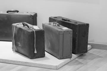 Raphael Cuomo e Maria Iorio, Objetcs shown in the Museo Nazionale Emigrazione Italiana, Roma. March 2014