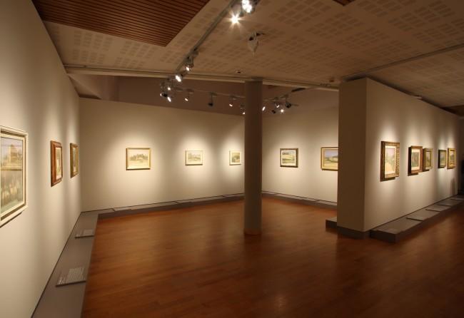 Morandi. L'essenza del paesaggio, veduta della mostra, Fondazione Piera, Pietro e Giovanni Ferrero, Alba (CN) (16 ottobre 2010 – 16 gennaio 2011)