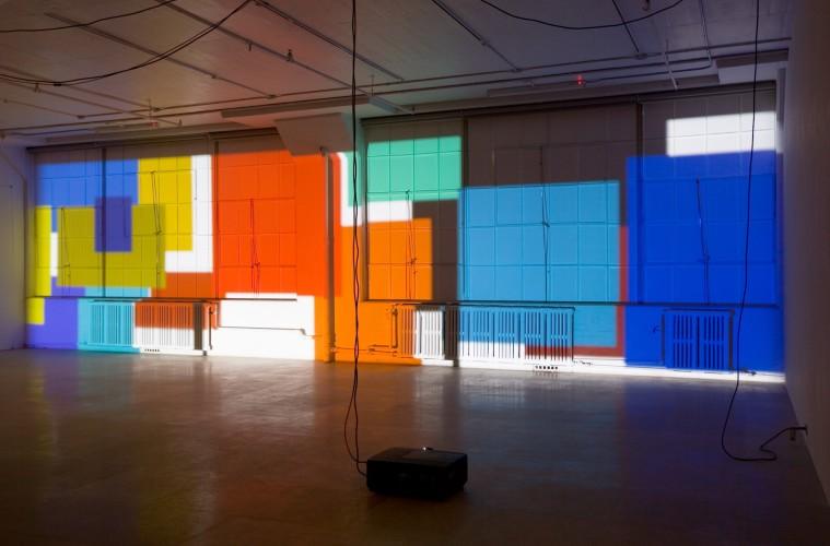 Paul Chan, Sade for Sade's sake, 2009, digital color projection, 5 hours 45 min, Greene Naftali, New York 2009 (installation view) Courtesy the artist and Greene Naftali, New York Photo Gil Blank