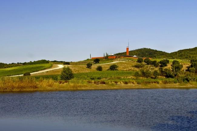 Veduta della Rocca di Frassinello, Gavorrano (GR)