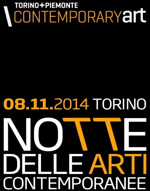 Notte delle Arti Contemporanee, Torino (particolare della locandina)