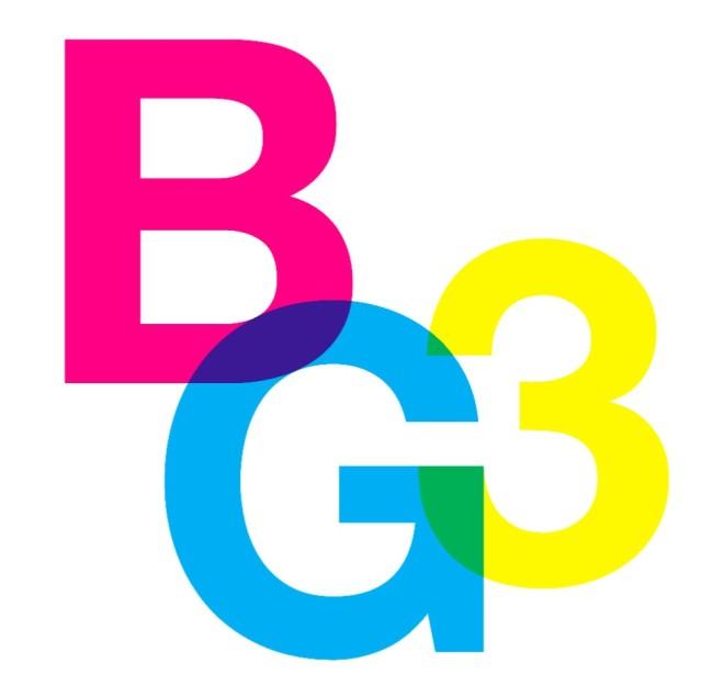 BG3Biennale Giovani, Accademia di Belle Arti, Bologna (logo)