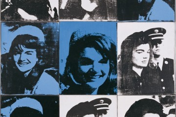 Andy Warhol Nine Jackies 1964 serigrafia su tela / silkscreen on canvas 163.83x132.72 cm © The Andy Warhol Foundation for the Visual Arts Inc., by SIAE 2014 © Sonnabend Collection, New York