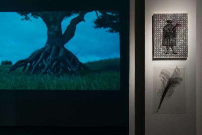 Mariagrazia Pontorno, Tutto ciò che so, 2014-2015, veduta della mostra, Passaggi Arte Contemporanea, Pisa