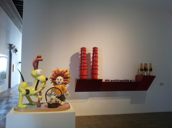 Da Rauschenberg a Jeff Koons. Lo sguardo di Ileana Sonnabend, 2014-2015, veduta allestimento, Ca' Pesaro, Venezia