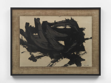 Franz Kline, Drawing, 1957, Panza Collection Fotocredit Alessandro Zambianchi - Simply.it, Milano