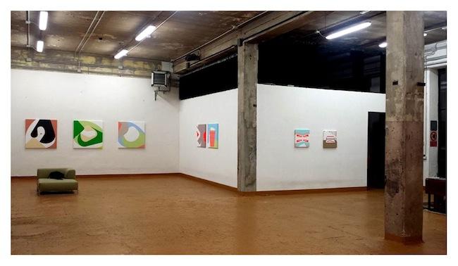 "Allestimento ""Token"", Galleria Bianca Maria Rizzi&Matthias Ritter, Milano"