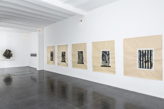 Simona Caramelli. Until next morning, veduta della mostra, Fondazione Mudima, Milano Foto di Fabio Mantegna