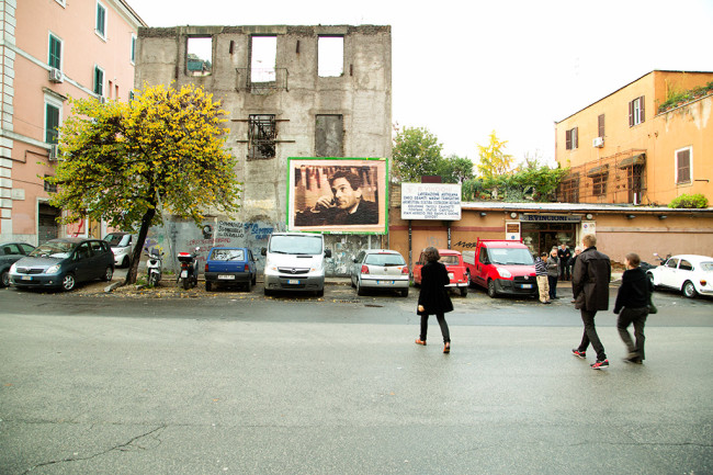 Mostra Μύθοι. Myths. Students/Artists/Teachers. A process of exchange Fondazione Pastificio Cerere, Roma, dicembre 2014 Installazione Untitled / Senza titolo di Adelaide Cioni