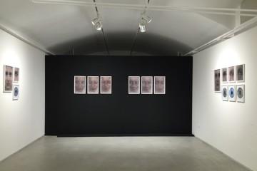 Veduta della mostra Progressione di Vania Comoretti