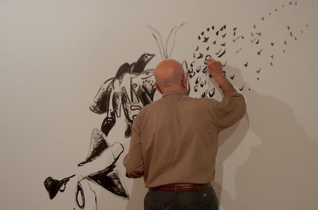 Il Sogno Bianco, performance di Lucio Pozzi, MAC Lissone, maggio 2014