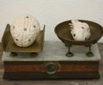 MICHELE GIANGRANDE COINCIDENTIA OPPOSITORIUM, 2013, particolare, Ceramica
