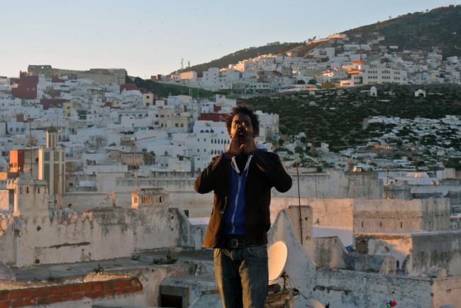 """Moussa Sarr, L'appel (série Points de vue), 2013, video 5'00"""""""