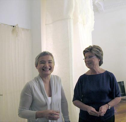 Annalisa Giannella (a destra)_Lin Yan (a sinistra), Officina, Bruxelles