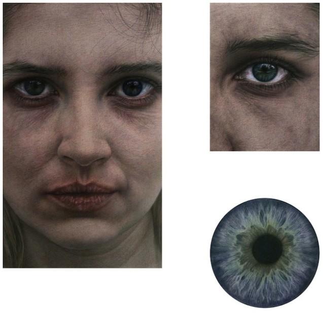 IRIDE, 2014, installazione dimensioni variabili installazione composta da più elementi (Person, Eye, Iris)