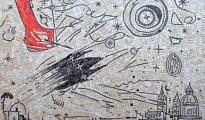 Enzo Cucchi, Senza titolo, mosaico