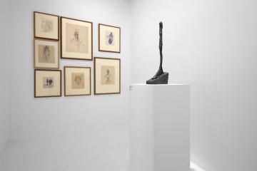 A un passo dal tempo. Giacometti e l'arcaico, MAN – Museo d'Arte Provincia di Nuoro, Nuoro (veduta dell'allestimento)