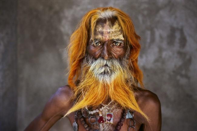 Steve McCurry, Un uomo anziano della tribù Rabari, Rajasthan, 2010 © Steve McCurry
