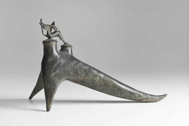 Giuseppe Maraniello, Rebis, 2002, bronzo, 30x22x50 cm Courtesy Fondazione Marconi