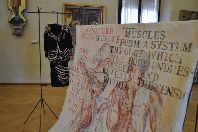 Sissi Manifesto Anatomico veduta Collezioni Comunali d'Arte