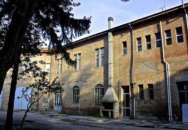Il cortile dello Spazio Grisù, Ferrara