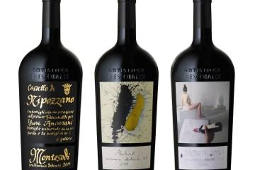 Collezione Bottiglie Magnum Cru Montesodi vendemmia 2011, Artisti per Frescobaldi 2014