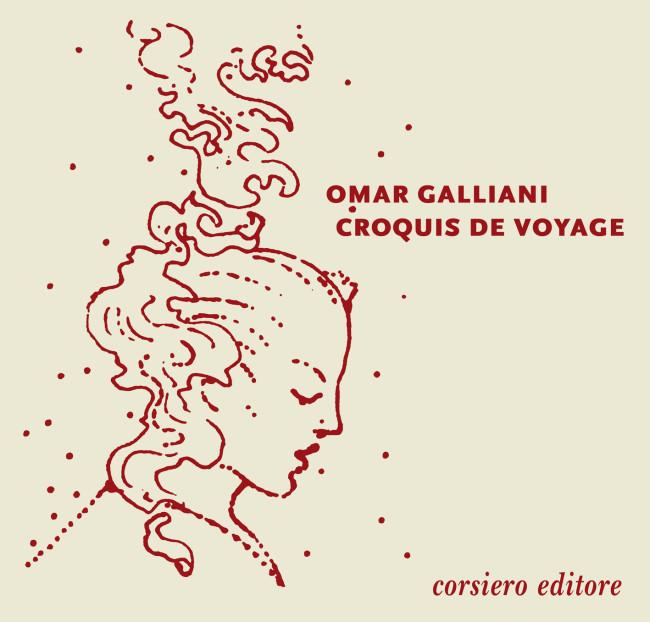 Copertina del catalogo Omar Galliani. Croquis de voyage, corsiero editore, Reggio Emilia