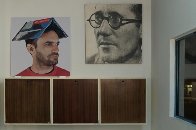 Cristian Chironi. My house is a Le Corbusier (Esprit Nouveau Bologna), veduta dell'installazione, Padiglione Esprit Nouveau, Bologna Credits Luca Ghedini
