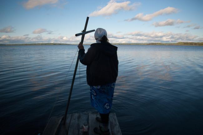 Ekaterina Maximova, Cloister on the lake Kenozero in Archangelsk Region