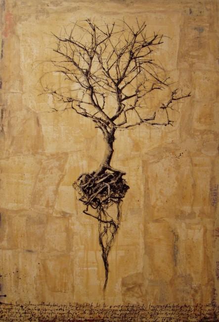 Hyena, Albero, 2009, stampa, 130x90 cm