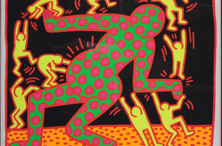 Keith Haring, Fertility#3, 1983, serigrafia, 105.92x127 cm