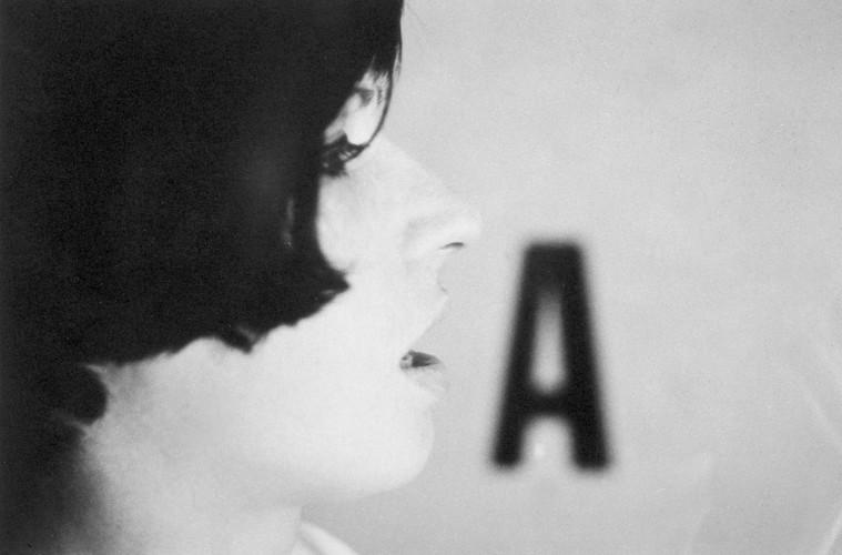 Luca Maria Patella, Rosa dice A, 1966