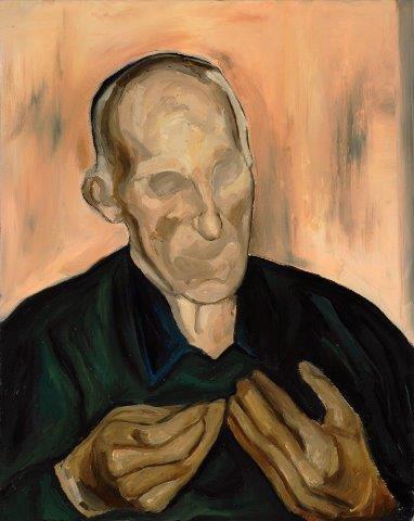 Federico Zanzi, Quelle tue mani, olio su tela, 40x50 cm