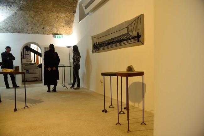 Ugo Marano. Sculture, disegni, dipinti, performance 1966-2011, veduta dell'allestimento Sala design, FRAC – Museo/Fondo Regionale Arte Contemporanea di Baronissi, Baronissi (SA) Courtesy FRAC