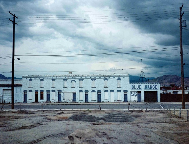 Wim Wenders, Blue Range, Butte Montana, 2000 © for the reproduced works and texts by Wim Wenders, Wim Wenders, Wenders Images, Verlag der Autoren