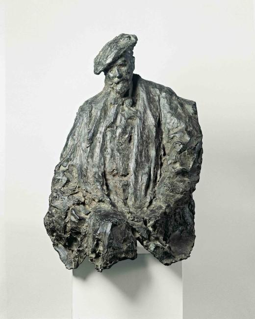 Medardo Rosso, Henri Rouart, 1890, bronzo, 93x71x50 cm, Winterthur, Museo © Schweizerisches Institut für Kunstwissenschaft, Zurigo Foto Jean‐Pierre Kuhn