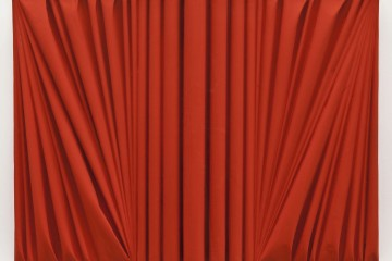 Umberto Mariani, Senza titolo, 2014, acrilico e sabbia su lamina di piombo, 60.5x80.5 cm Provenienza Studio dell'artista, Milano - Jerome Zodo Contemporary, Milano