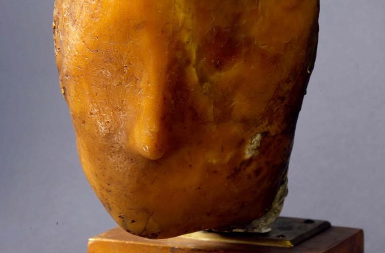 Medardo Rosso, Madame X, 1896, cera su gesso, 30x19x24 cm, Venezia Galleria Internazionale d'Arte Moderna di Ca' Pesaro 2015 © Archivio Fotografico ‐ Fondazione Musei Civici di Venezia