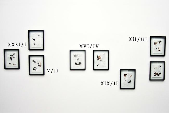Chiara Fumai, Der Hexenhammer, pittura su muro Museion Project Room, 2015. Foto Gianluca Turatti. Courtesy of the artist and A Palazzo Gallery, Brescia