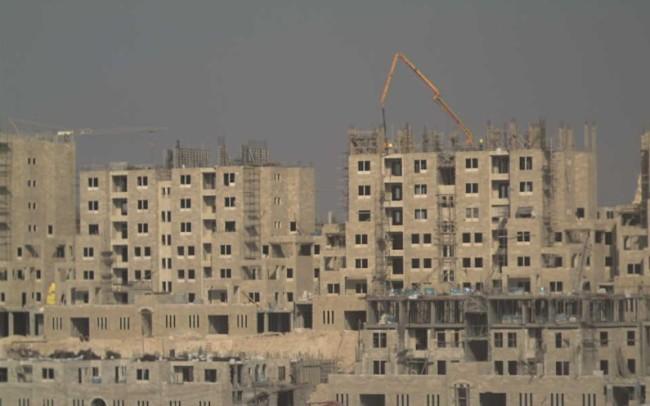 I moduli abitativi di Rawabi