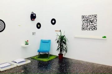Lorenzo Commisso, Ingrandire un'idea, vista della mostra presso scatolabianca(etc.), Milano