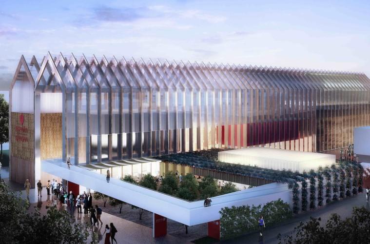 Padiglione Spagnolo, Expo Milano 2015. Nutrire il pianeta, energia per la vita